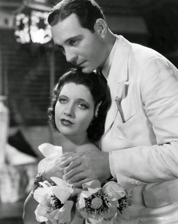 Kay Francis and Ricardo Cortez star in the 1934 Pre-Code melodrama, Mandalay