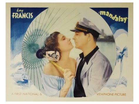 Mandalay 1934 lobby card
