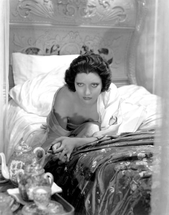 Kay Francis has that come-hither look in Mandalay (1934), an often overlooked Pre-Code drama
