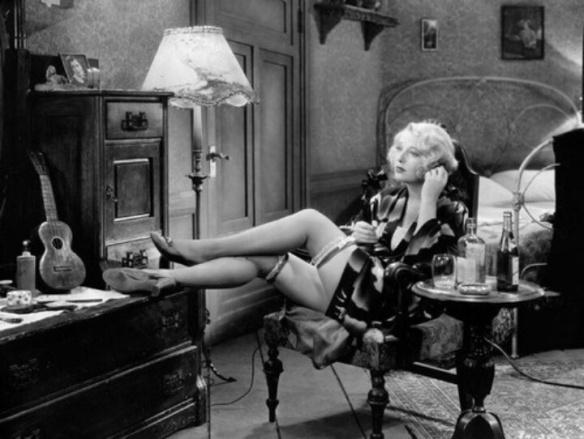 Dorothy MacKaill plays a less elegant 'cafe girl' in the down and dirty Pre-Code drama, Safe in Hell (1931), directed by William Wellman