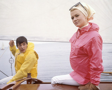 Barry Evans & Judy Geeson go sailing in Here We Go Round the Mulberry Bush (1967)