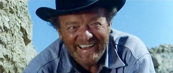 Van Heflin stars as Sam Cooper in the spaghetti western, The Ruthless Four (1968)