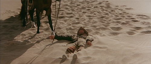 Van Heflin is stranded in an unforgiving desert in The Ruthless Four (1968)