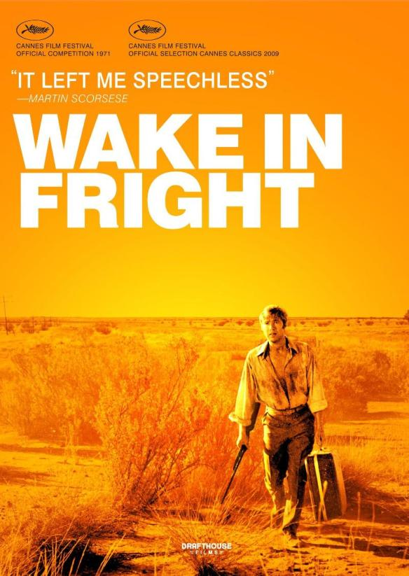 The Alamo Drafthouse Blu-Ray cover of Wake in Fright