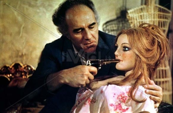 Michel Piccoli has one of his jealous rages in Life Size (1974), a wicked black comedy from Luis Garcia Berlanga