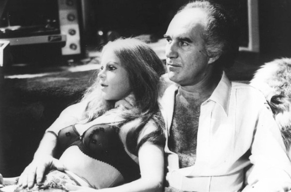 Michel Piccoli and his polyurethane companion in Luis Garcia Berlanga's Life Size (Grandeur Nature, 1974)