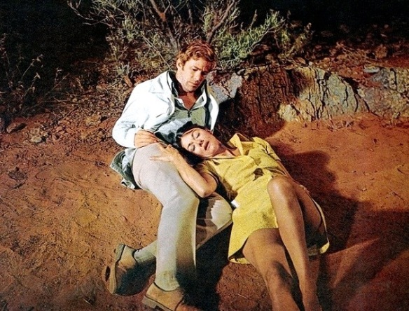 A sexual encounter between Gary Bond and Sylvia Kay becomes a cry of despair in Wake in Fright (1971)