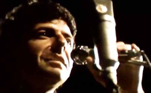 Leonard Cohen: Bird on a Wire (1972), directed by Tony Palmer