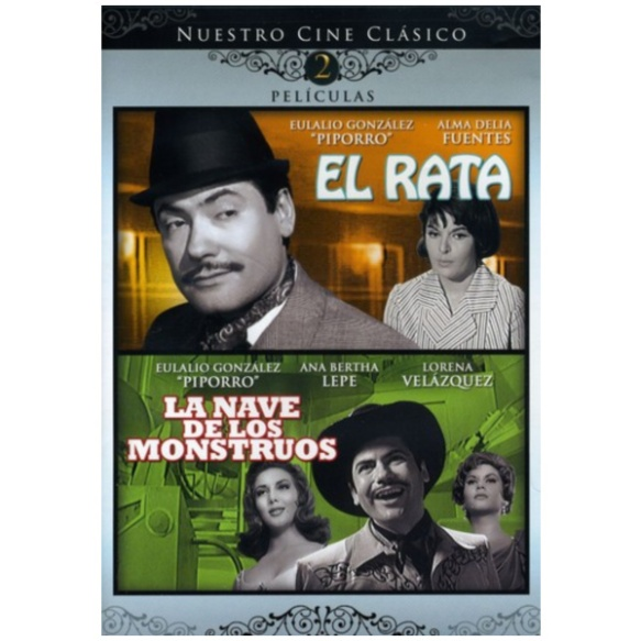 DVD cover of La Nave de los Monstruos & La Rata