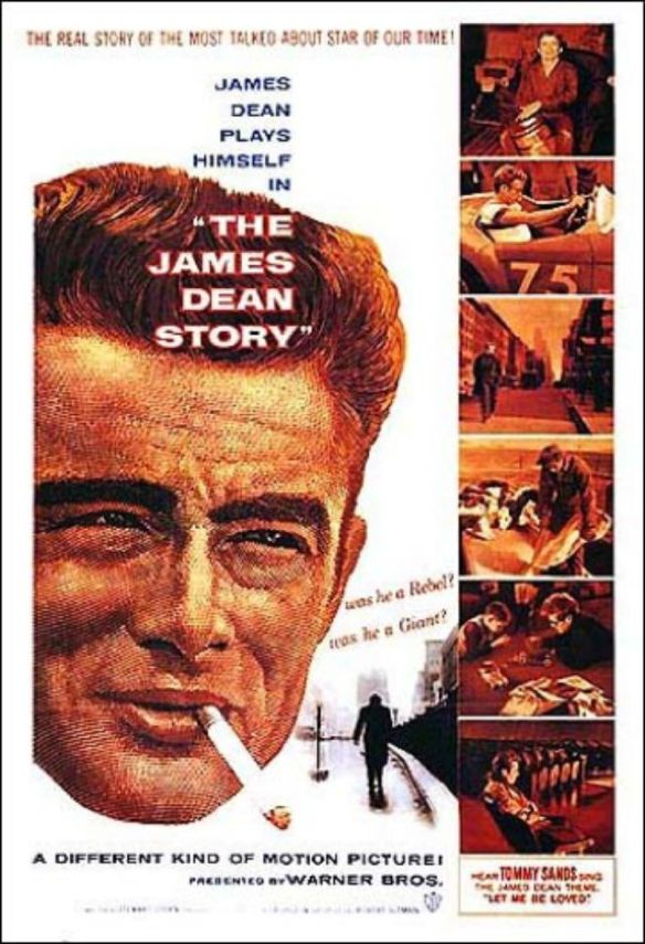 The James Dean Story film poster