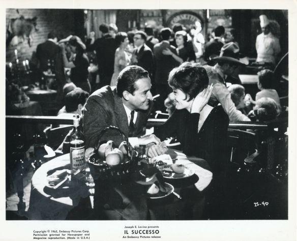 Vittorio Gassman & Anouk Aimee star in Il Successo (1963)