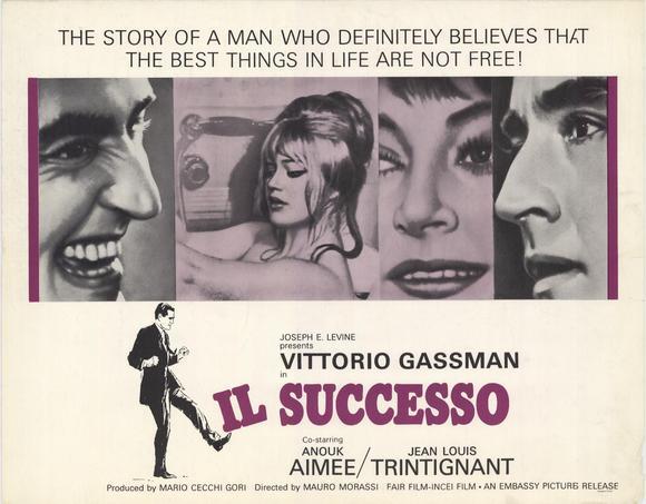 Il Successo film poster (1963)