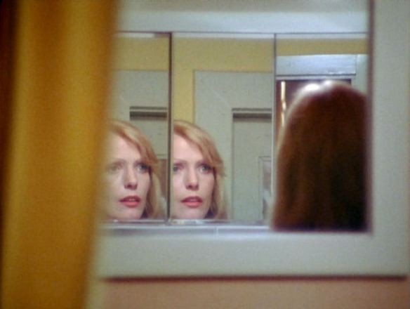 Margit Carstensen confronts herself in R.W. Fassbinder's Fear of Fear (1975 aka Angst vor der Angst)