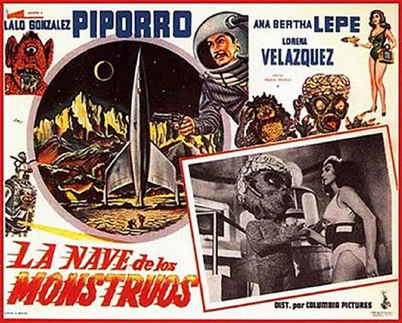 La Nave de los Monstruos film poster