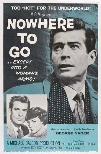 Nowhere to Go 1958 film poster