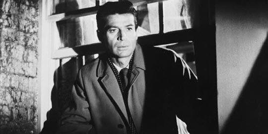 George Nader on the lam in Nowhere to Go (1958)