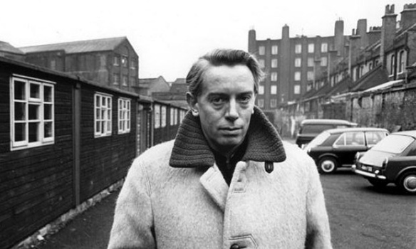 Theater critic Kenneth Tynan and co-writer of the screenplay for Nowhere to Go (1958)