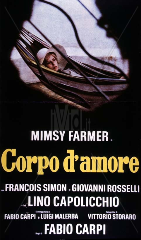 Corpo d'amore film poster