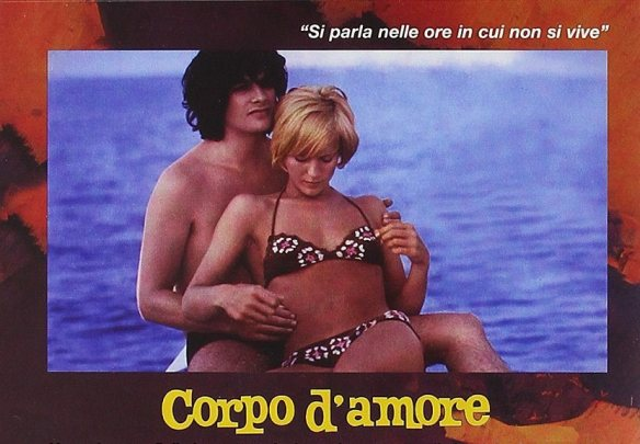 Lino Capolicchio and Mimsy Farmer have a short lived fling in Corpo d'amore (1972)