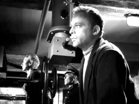 Herbert Lom (foreground) has a major supporting role in the 1960 biopic, I Aim at the Stars