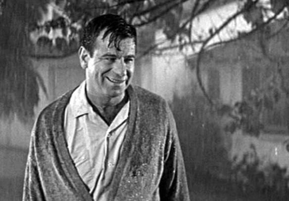 Walter Matthau plays a lecherous neighbor who prepares to put the moves on Barbara Rush (the wife of Kirk Douglas in Strangers When We Meet).
