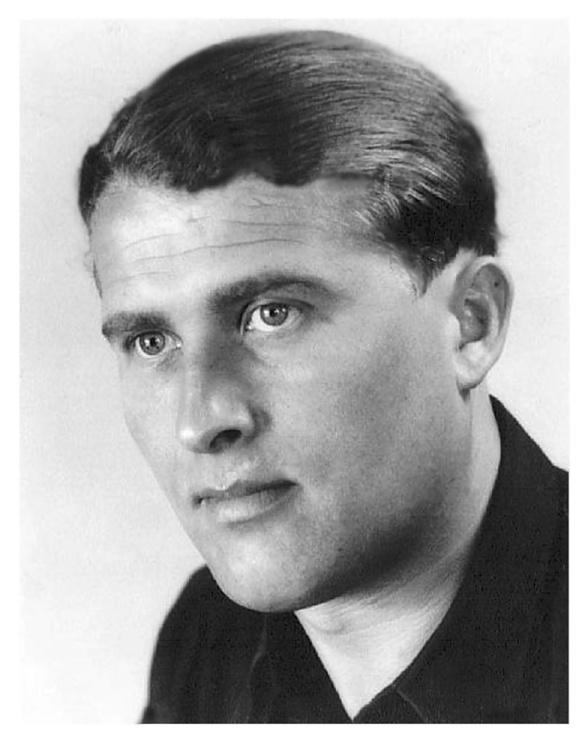 The real Wernher von Braun in his youth