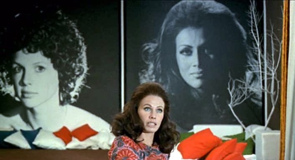 Ida Galli (aka Ewelyn Stewart) plays the enigmatic Bibiana in Queens of Evil (1970).