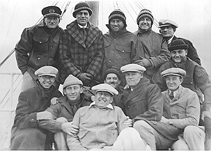 The film crew for W. S. Van Dyke's Eskimo (1933).