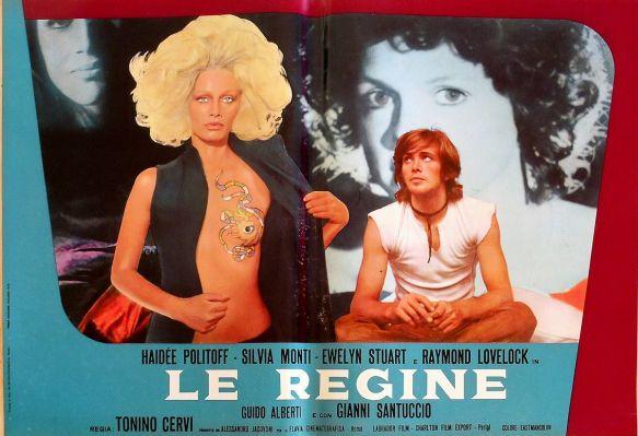 La Regine (1970) lobbycard