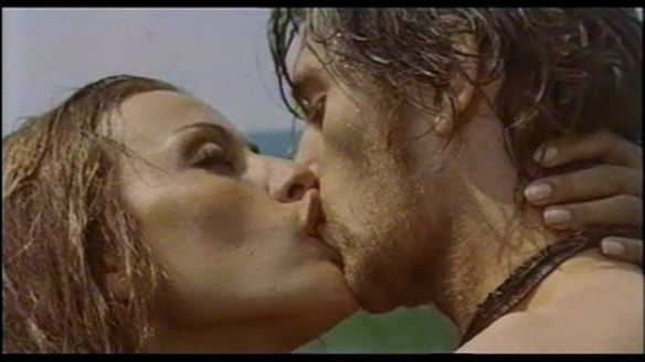 A swim in the lake ends in seduction in Queens of Evil (1970), starring Silvia Monti & Ray Lovelock.