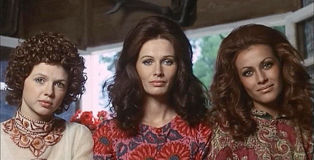 (from left to right) Haydee Politoff, Ida Galli and Silvia Monti in Queens of Evil (aka La Regine, 1970)