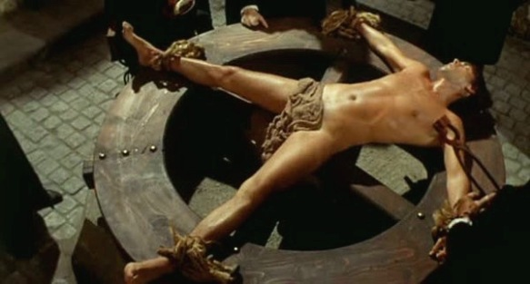 Tomas Milian is accused of murder in Beatrice Cenci (1969) but refuses to confess under extreme torture.