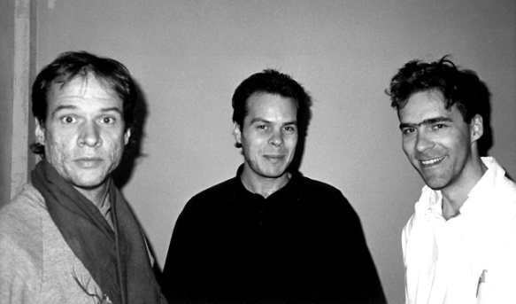Musician Arthur Russell (left) and his companion Tom Lee (center) from the 2008 documentary Wild Combination.