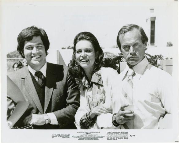 Barbara Feldon and Geoffrey Lewis (far right) star in Michael Ritchie's 1975 satire, Smile