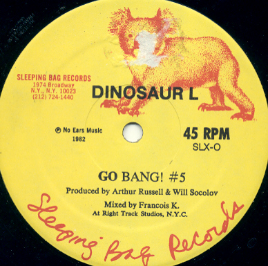 Go Bang single by Arthur Russell