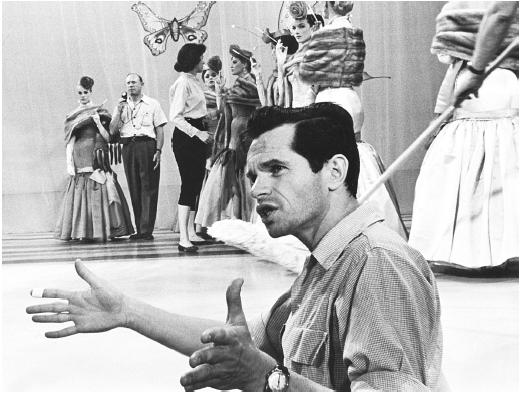 Famous choreographer Michael Kidd appears in a rare movie role in Smile (1975)