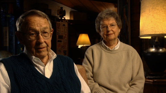 Chuck and Emily Russell, the parents of musician Arthur Russell, in the 2008 documentary, Wild Combination