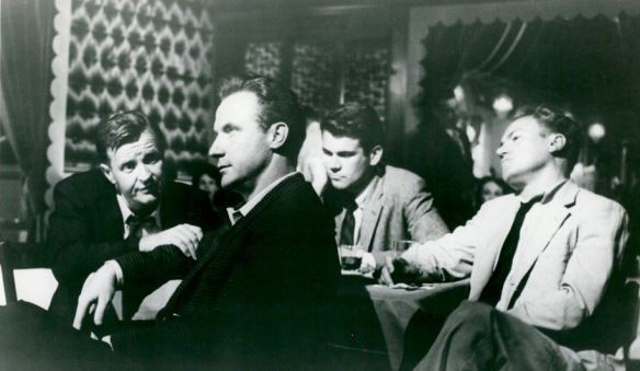 A stag party for a married man turns into a dark night of soul searching in Paddy Chayefsky's The Bachelor Party (1957), directed by Delbert Mann.