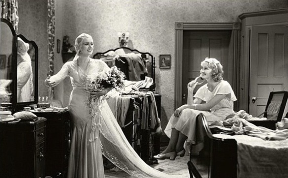 Anita Page and Marian Marsh star in the 1931 Pre-Code drama, Under Eighteen, directed by Archie Mayo.