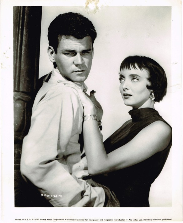 Don Murray and Carolyn Jones star in The Bachelor Party (1957).