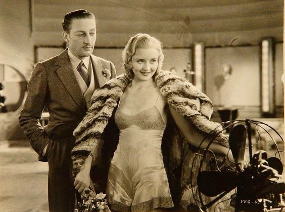 Warren William and Marian Marsh in the Pre-Code drama, Under Eighteen (1931), directed by Archie Mayo.