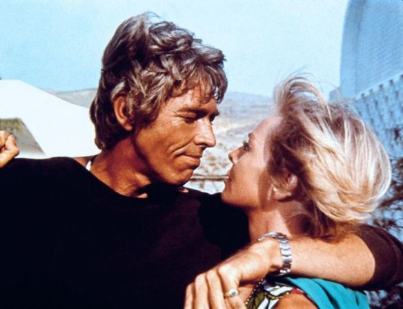 James Coburn & Susannah York make a groovy pair of con-artists in Duffy (1968).