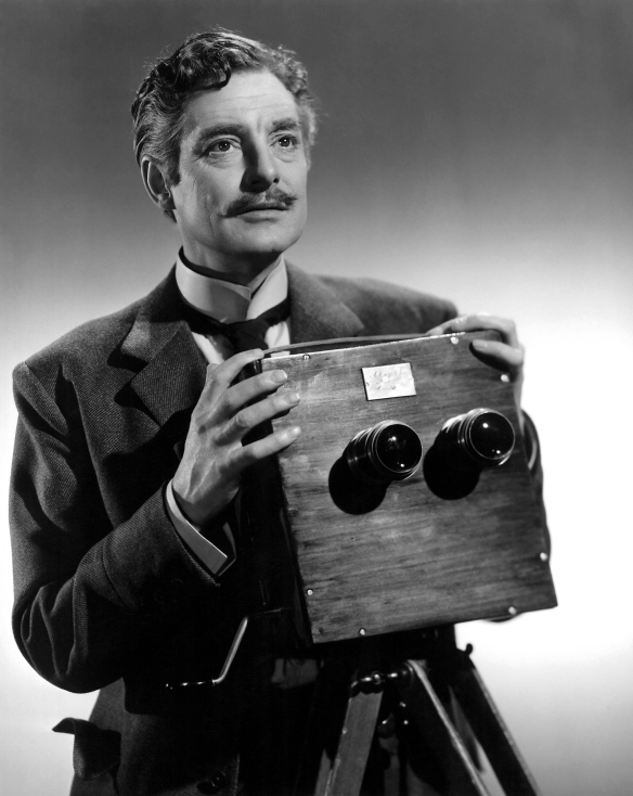 Robert Donat in the British 1951 biopix of cinema pioneer William Friese-Greene, The Magic Box.