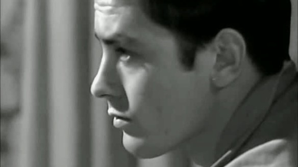 Alain Delon stars in L'Insoumis (1964), directed by Alain Cavalier.