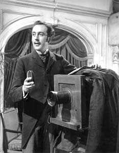 Dennis Price, star of Kind Hearts and Coronets, makes a cameo appearance in The Magic Box, 1951.
