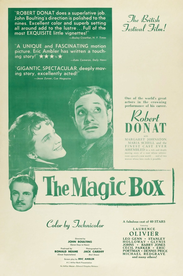 The Magic Box (1951) film poster