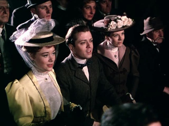 Glynis Johns & Richard Attenborough play supporting roles in the British biopix, The Magic Box (1951).