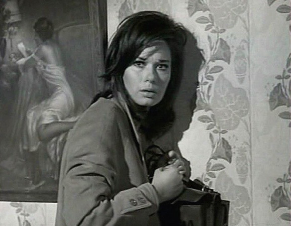 Lea Massari plays a lawyer kidnapped by the OAS in the political thriller L'Insoumis (aka The Unvanquished, 1964).