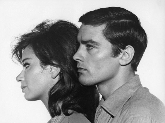 Lea Massari and Alain Delon star in the political thriller/romantic melodrama L'Insoumis (1964).