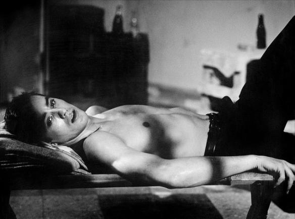 Alain Delon stars in Alain Cavalier's L'Insoumis (1964).